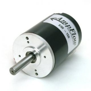 AmpFlow E30 150 Brushed Electric Motor, 12V, 24V, or 36V DC, 5600 RPM: Industrial & Scientific