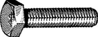 50 M6 1.00 x 12mm Cap Screws Din 933 Zinc Automotive