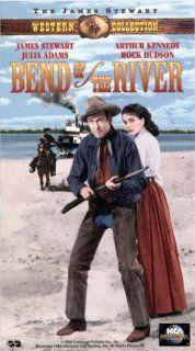 Bend of the River [VHS]: James Stewart, Rock Hudson, Arthur Kennedy, Jay C. Flippen, Julie Adams, Lori Nelson, Chubby Johnson, Stepin Fetchit, Harry Morgan, Howard Petrie, Frances Bavier, Jack Lambert, Irving Glassberg, Anthony Mann, Russell F. Schoengarth