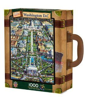 MasterPieces / Collector Suitcase 1000 piece Puzzle, Washington DC Toys & Games