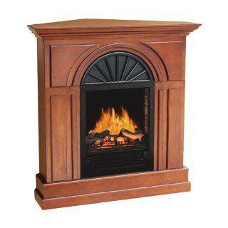 Flametec 940C 38BMW 750 Watt / 1500 Watt 3D Flame Electric Fireplace, Walnut