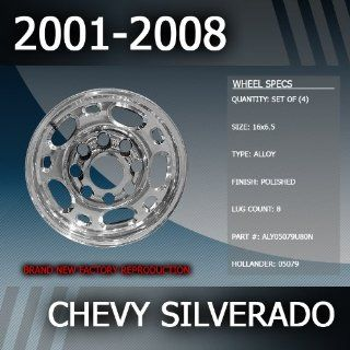 "2001 2008 Chevy Silverado Factory 16"" Replacement Wheels Set of 4 Automotive"