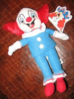 "9"" Plush Bozo the Clown: Toys & Games"