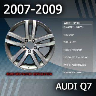 """2007 2009 Audi Q7 OEM Factory 20"""" Replacement Wheel Automotive"""
