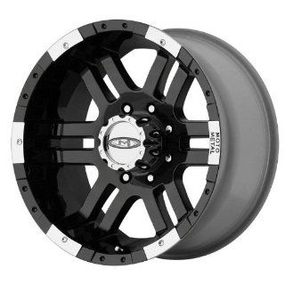 "Moto Metal Series MO951 Gloss Black Machined Wheel (16x9""/8x6.5"") Automotive"