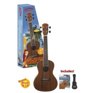 Spectrum Concert Ukulele Pack   Brown (AIL 212C)