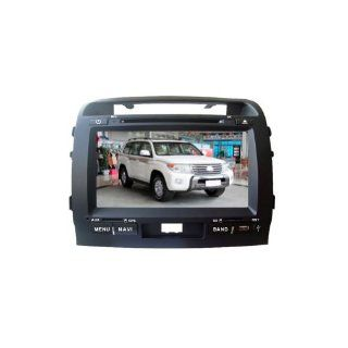 KaiChuang 9 inch HD Touch Screen Dashboard Toyota Land Cruiser Car DVD GPS Stereo Player with Bluetooth Ipod USB SD ATV RDS Automotive