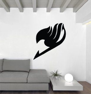 "Fairy Tail Guild Insignia   35"" Black Vinyl Wall Decal   Other Products"