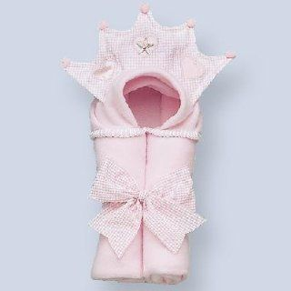 Pink Princess Hooded Fleece Blanket   Nursery Blankets