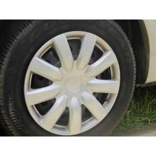 """Drive Accessories KT 985 15S/L, Toyota Camry, 15"""" Silver Lacquer Replica Wheel Cover, (Set of 4): Automotive"""