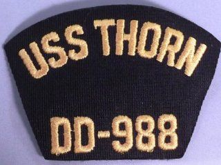 """US Navy USS THORN DD 988 3"""" Tall Embroidered PATCH"""