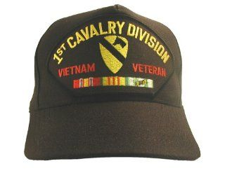 NEW U.S. Army 1st Cavalry Division Vietnam Veteran Cap w/ Ribbons: Everything Else