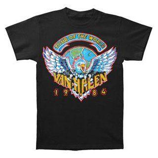 T Shirt   Van Halen   Tour of the World 1984   Music Fan T Shirts