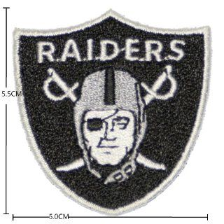 Oakland Raiders Football Logo Iron on Patch From Thailand: Everything Else