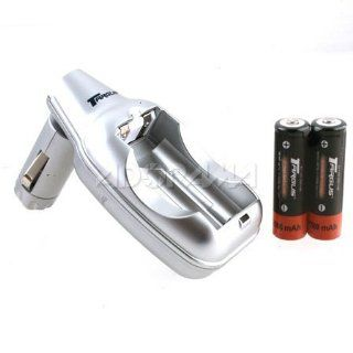Targus TG RCC AA/AAA Battery Car Charger w/2 AA 2700mAh Ni MH Rechargeable Batteries: Office Products