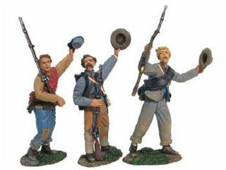 Stonewall Brigade   5th Virginia Infantry Cheering Troops   3 Pieces: Toys & Games