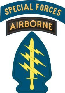 "United States Army Special Forces Airborne Tab Decal Sticker 3.8"": Automotive"