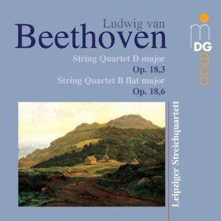 Beethoven String Quartets 3 & 6 Op 18 Music