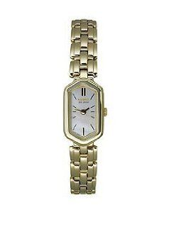Citizen Women's EG2362 59D Silhouette Eco Drive Gold Tone Watch at  Women's Watch store.