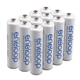 eneloop (3rd gen) AAA 1800 cycle, Ni MH Pre Charged Rechargeable Batteries, 12 Pack (discontinued by manufacturer): Electronics