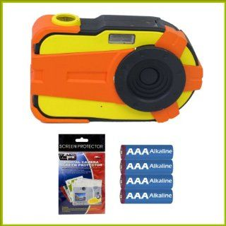 Nerf 2.1MP Digital Camera with 1.5 inch LCD + AAA Batteries + Screen Protectors: Toys & Games