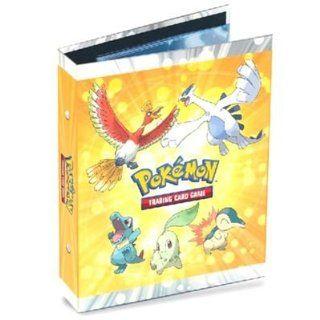 Ultra Pro Pokemon Card Supplies 4Pocket Mini Binder Heartgold Soulsilver HoOh Lugia Toys & Games