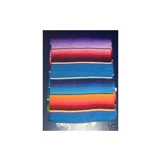 Shop Saltillo Serape Mexican Blanket hot rod seat cover BLUE at the  Home D�cor Store