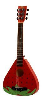 First Act FG166 Discovery Steel String Acoustic Guitar with a Strawberry Shape: Musical Instruments