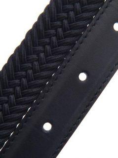 Elasticated woven rope belt  Saint Laurent