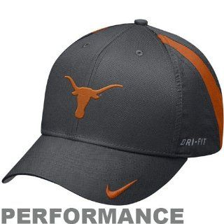 Texas Longhorns Nike Sewn Dri FIT Adj Training Camp Hat  Sports Fan Baseball Caps  Sports & Outdoors