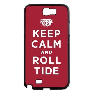 NCAA Alabama Crimson Tide Logo Samsung Galaxy Note 2 N7100 Case Cover New Style: Cell Phones & Accessories