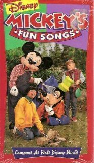 Mickey's Fun Songs   Campout at Walt Disney World (Sing Along Songs) VHS Movies & TV