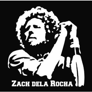 "(2x) 5"" Zach dela Rocha Rage Against the Machine Logo Sticker Vinyl Decals"