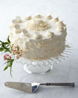 White Chocolate Torte   FROSTED ART BAKERY
