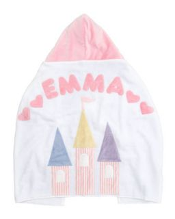 Fairy Tale Castle Hooded Towel, Personalized   Boogie Baby