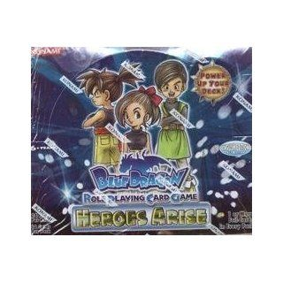Blue Dragon Role Playing Card Game   Heroes Arise Booster Box Toys & Games