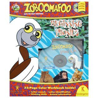 Beginning Phonics (Zoboomafoo, Kindergarten): Jan Andersen, Chris Kratt, Martin Kratt: 9781577910206: Books