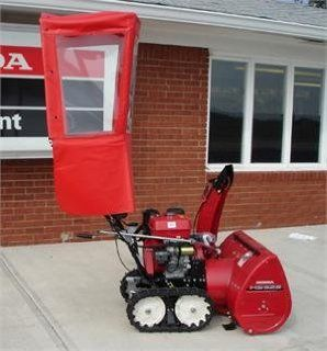 Honda Walk Behind Snow Blower Cab From Original Tractor Cab: Home Improvement