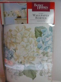 Better Homes and Garden Wallpaper Border   Hydrangeas   Wall Paper Borders