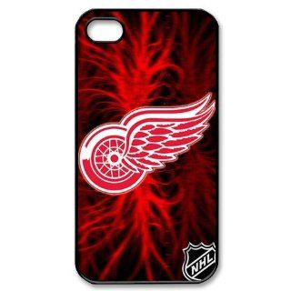 Fitted iPhone4/4s Cases Salsa Air NHL Detroit Red Wings logo back covers FZ1016 Electronics