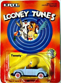 Looney Tunes Tweety Die Cast Metal Car Toys & Games