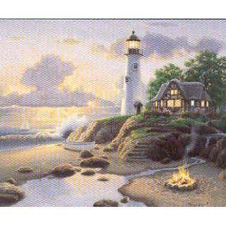 Richard Burns   Cottage Light Fine Art