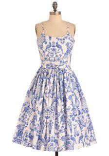 Bernie Dexter Two if by Tea Dress  Mod Retro Vintage Dresses