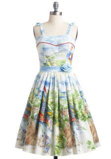 Bernie Dexter Koi to the World Dress  Mod Retro Vintage Dresses