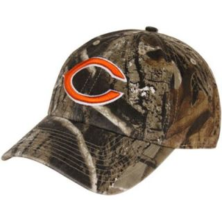 47 Brand Chicago Bears Clean Up Adjustable Hat   Realtree Camo