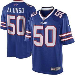 Mens Nike Kiko Alonso Royal Blue Buffalo Bills Limited Jersey