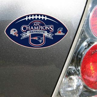 New England Patriots 2011 AFC Champions 12 Magnet