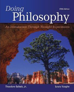 Doing Philosophy An Introduction Through Thought Experiments 9780078038259 Philosophy Books @