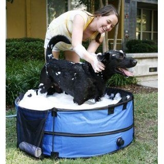ABO Gear Dirty Dog Portable Dog Bath : Pet Care Products : Pet Supplies