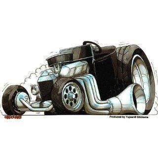 Kool Art   T Bucket Hot Rod Car   Sticker / Decal Automotive